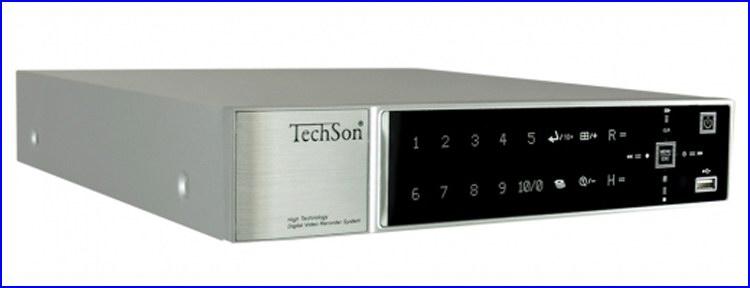TechSon DVR BD1116 Black Diamond kamera rendszer és videó rögzítő